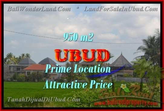 FOR SALE Beautiful LAND IN Sentral Ubud BALI TJUB428