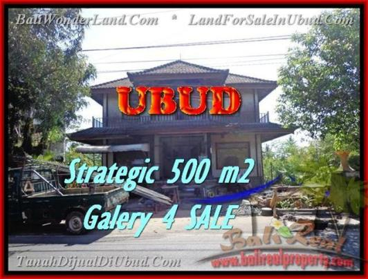 Magnificent PROPERTY 500 m2 LAND SALE IN UBUD BALI TJUB438