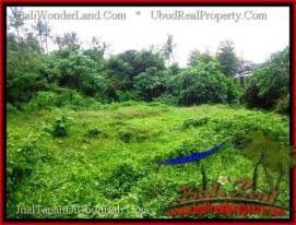 Beautiful LAND FOR SALE IN UBUD TJUB492