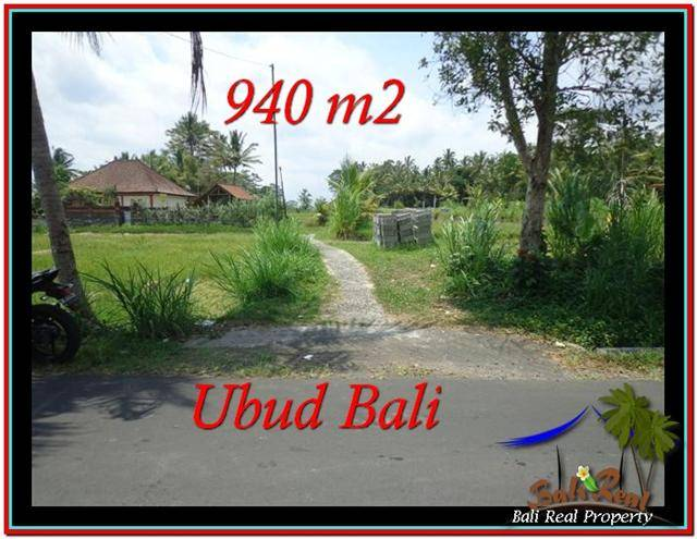 Exotic PROPERTY LAND FOR SALE IN UBUD TJUB531
