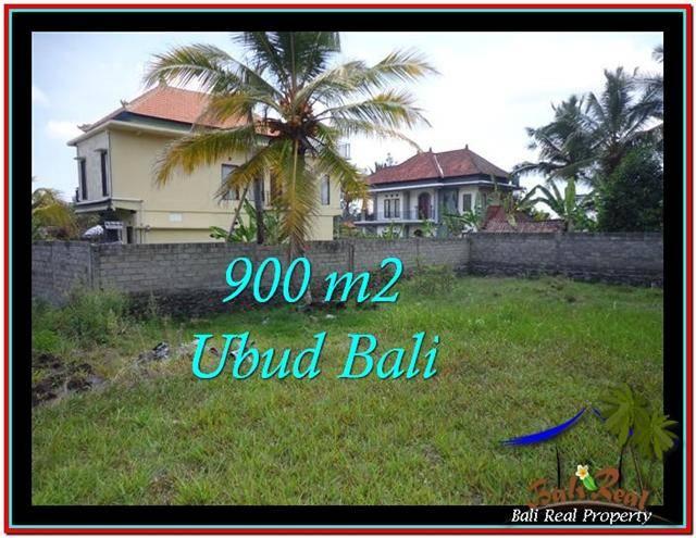 Exotic PROPERTY Ubud Tampak Siring 900 m2 LAND FOR SALE TJUB532
