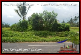 FOR SALE Exotic PROPERTY LAND IN UBUD TJUB540
