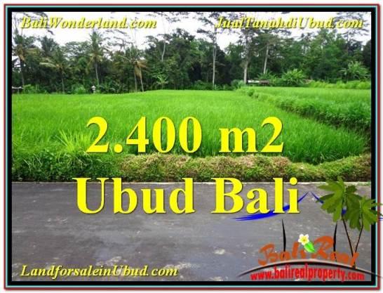 Affordable PROPERTY 2,800 m2 LAND IN Ubud Tampak Siring FOR SALE TJUB563