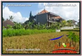 Beautiful UBUD BALI 1,000 m2 LAND FOR SALE TJUB618
