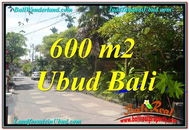 Affordable PROPERTY 600 m2 LAND IN Sentral / Ubud Center BALI FOR SALE TJUB644
