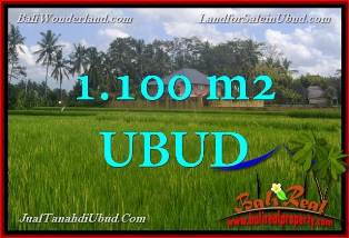 Affordable PROPERTY 1,100 m2 LAND IN Ubud Pejeng FOR SALE TJUB651