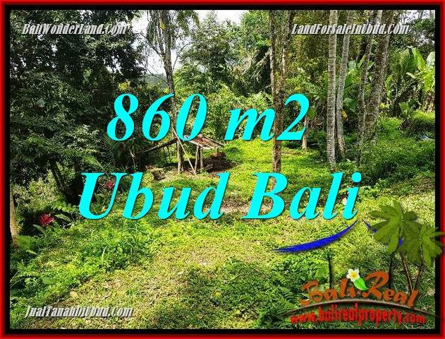 Exotic Property 860 m2 Land for sale in Ubud Tegalalang TJUB691