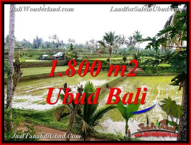 Magnificent 1,800 m2 LAND SALE IN TEGALALANG UBUD TJUB769