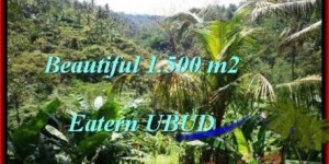 FOR SALE Magnificent 1,500 m2 LAND IN UBUD TJUB503