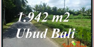 Magnificent PROPERTY 1,942 m2 LAND SALE IN UBUD BALI TJUB626