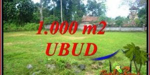 Affordable 1,000 m2 Land for sale in Ubud Pejeng TJUB728