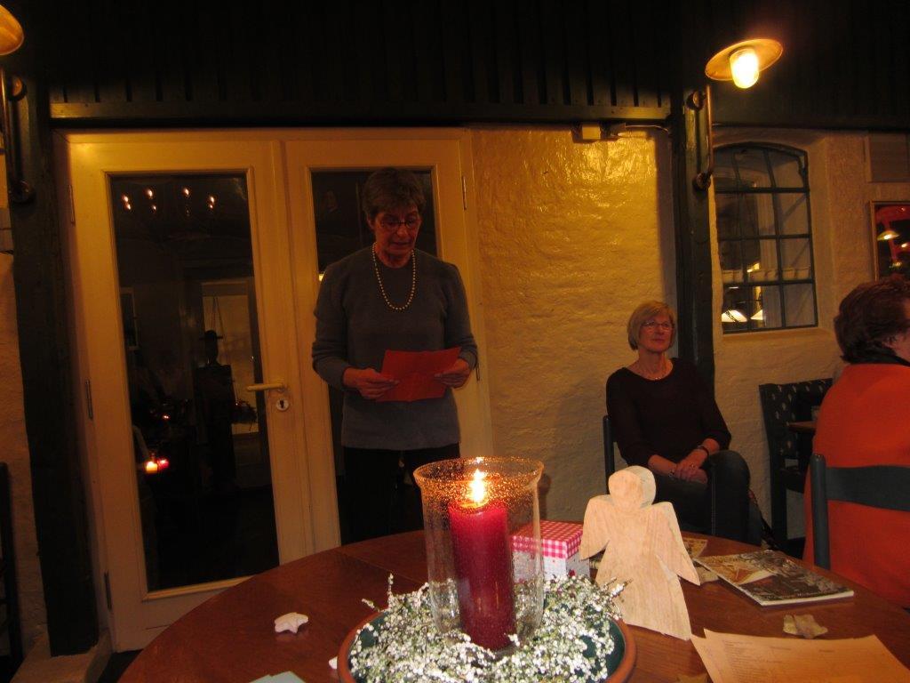 Weihnachtsfeier im Speicher Café – LandFrauenVerein Wanderup