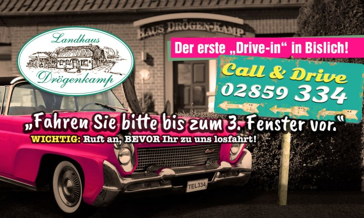 Drive-in in Wesel-Bislich