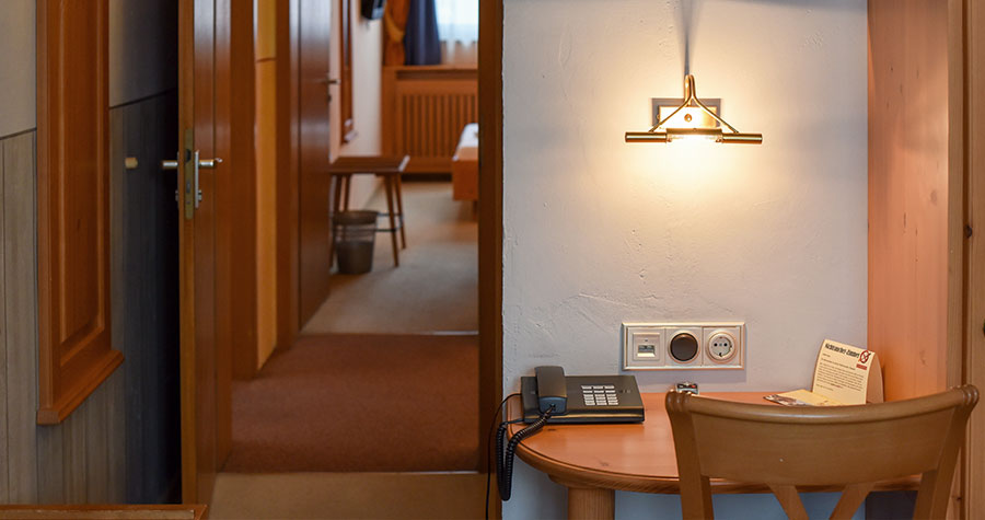 Mehrzweckzimmer im Hotel