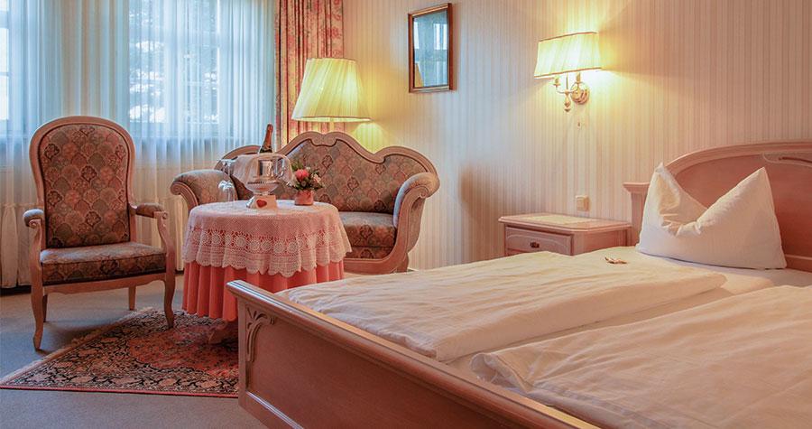 Doppelzimmer im Brauhof