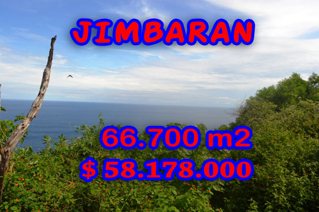 Land in Bali for sale, fantastic view in Jimbaran Bali – TJJI034