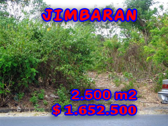 Land for sale in Bali, wonderful view in Jimbaran Bali – TJJI022