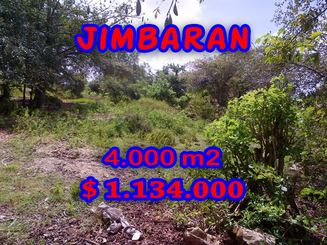 Spectacular Property for sale in Bali, land for sale in Jimbaran Bali  – 4.000 m2 @ $ 283
