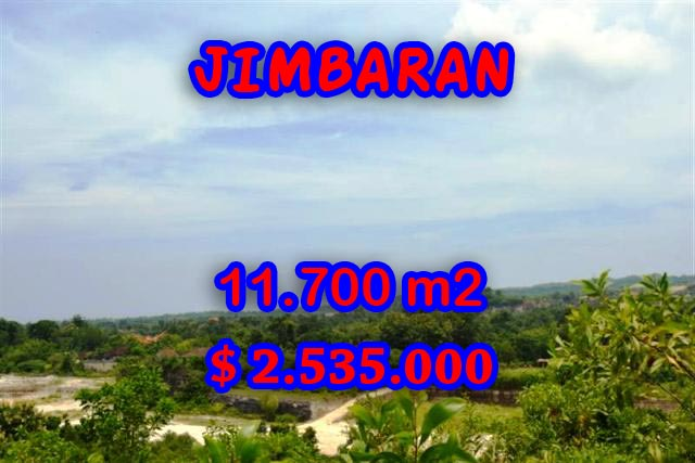 Interesting Property for sale in Bali Indonesia, land for sale in Jimbaran Bali  – 11.700 m2 @ $ 217