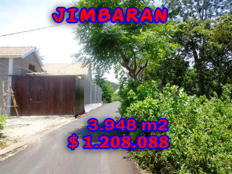 Land in Bali for sale, Extraordinary view in Jimbaran Bali – TJJI026