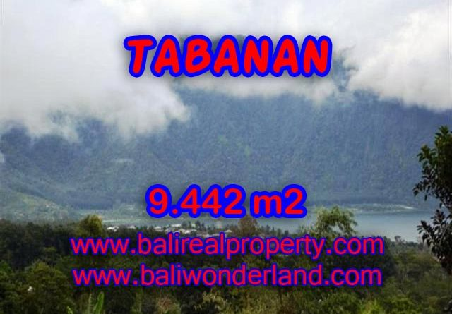 Fantastic Land for sale in Bali, Mountain and lake view in TABANAN BEDUGUL Bali – TJTB081