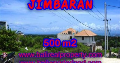 Land for sale in Bali, amazing view in Jimbaran Ungasan – TJJI066