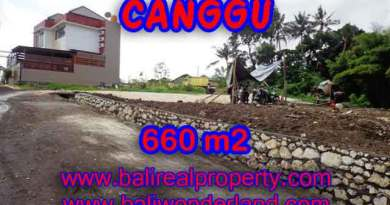Outstanding Property in Bali for sale, land in Canggu for sale – TJCG149