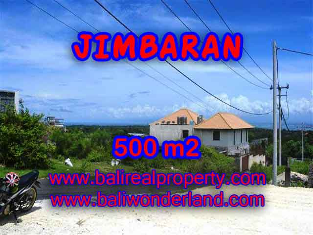 FOR SALE Beautiful PROPERTY 500 m2 LAND IN JIMBARAN BALI TJJI066