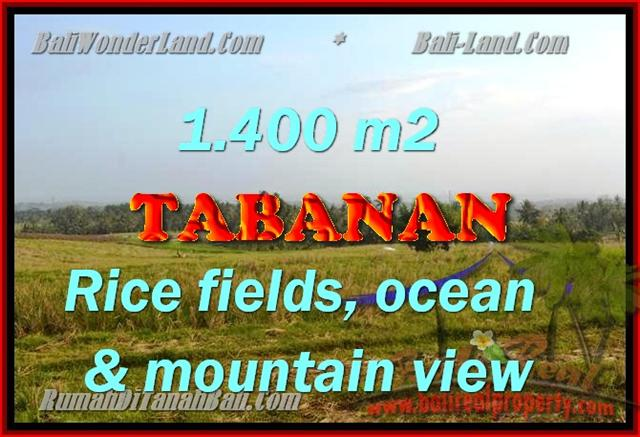 Land in Bali for sale, great view in Tabanan Bali – TJTB143