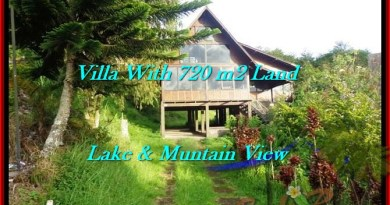 Exotic 720 m2 LAND FOR SALE IN TABANAN BALI TJTB190