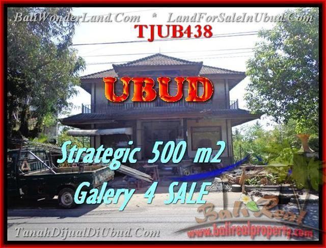 Exotic UBUD 500 m2 LAND FOR SALE TJUB438