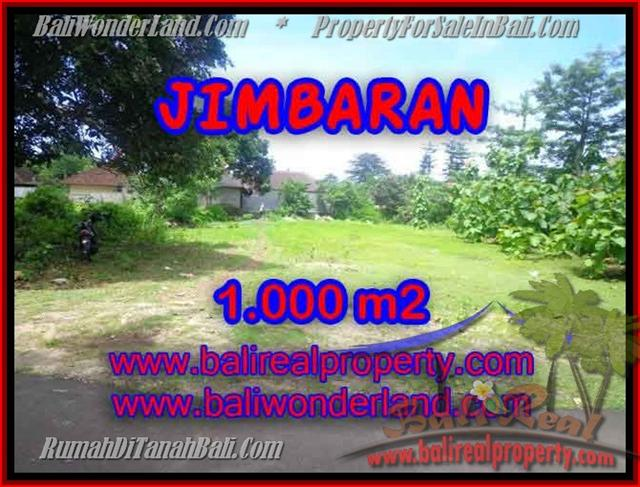 FOR SALE Exotic PROPERTY 1,000 m2 LAND IN Jimbaran four seasons BALI TJJI063