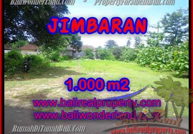 FOR SALE Beautiful 1,000 m2 LAND IN Jimbaran four seasons BALI TJJI063