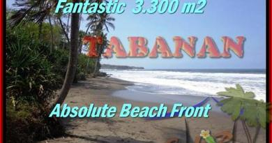 Beautiful 2,345 m2 LAND SALE IN TABANAN BALI TJTB158