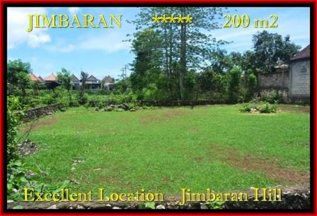 Beautiful Jimbaran Ungasan LAND FOR SALE TJJI087