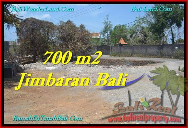 Exotic JIMBARAN 700 m2 LAND FOR SALE TJJI100
