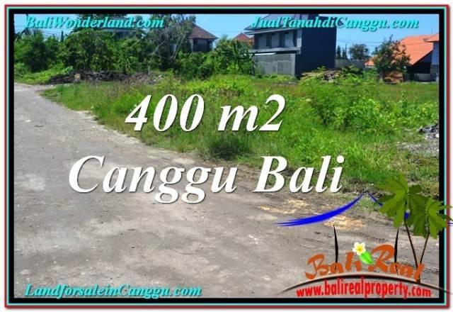 FOR SALE Beautiful 400 m2 LAND IN CANGGU TJCG202
