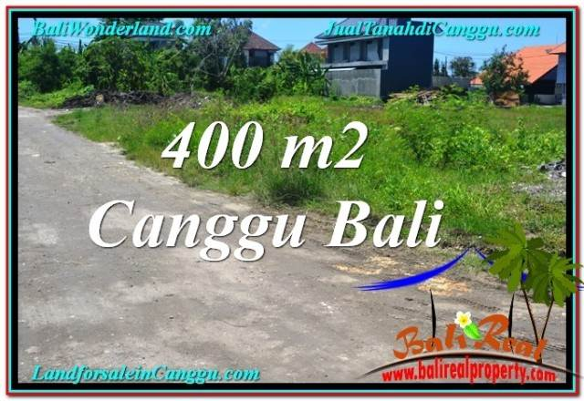 Affordable 400 m2 LAND IN CANGGU FOR SALE TJCG202