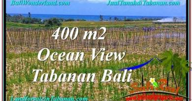 FOR SALE Exotic PROPERTY 450 m2 LAND IN TABANAN BALI TJTB292