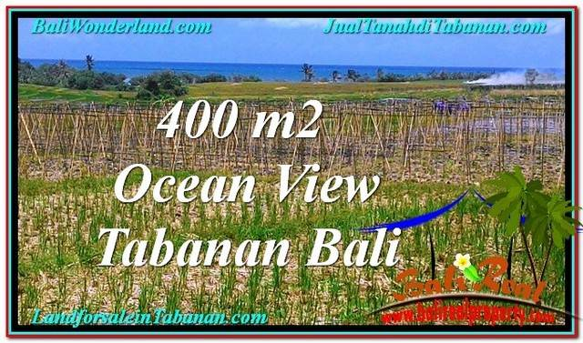 Magnificent 450 m2 LAND IN TABANAN BALI FOR SALE TJTB292