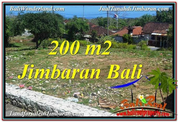 FOR SALE Beautiful PROPERTY 200 m2 LAND IN JIMBARAN BALI TJJI104
