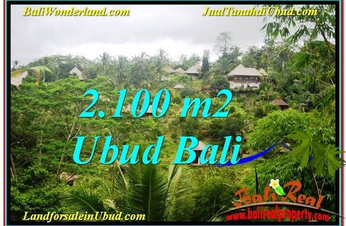 FOR SALE Exotic PROPERTY 2,100 m2 LAND IN UBUD BALI TJUB572