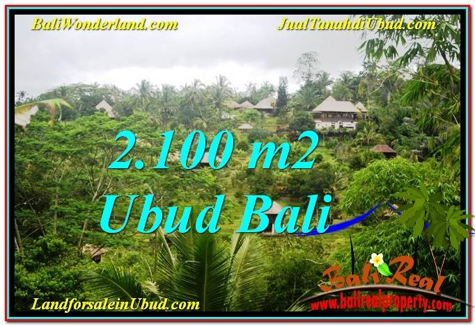 Magnificent 2,100 m2 LAND IN UBUD BALI FOR SALE TJUB572