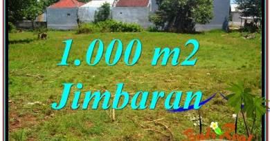 Jimbaran Ungasan 1,000 m2 LAND FOR SALE TJJI108