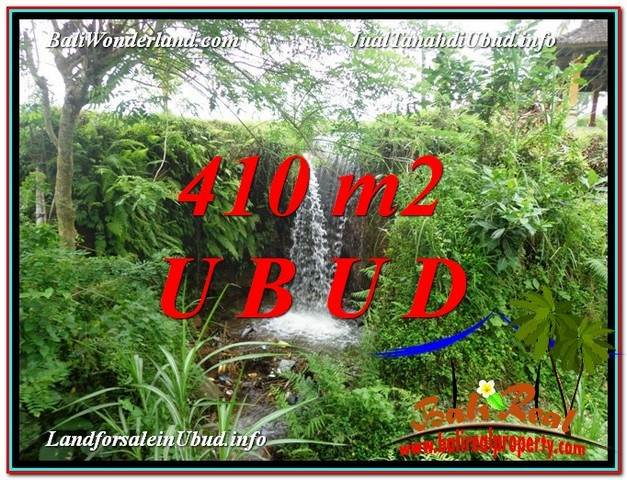 FOR SALE Affordable 410 m2 LAND IN UBUD TJUB578