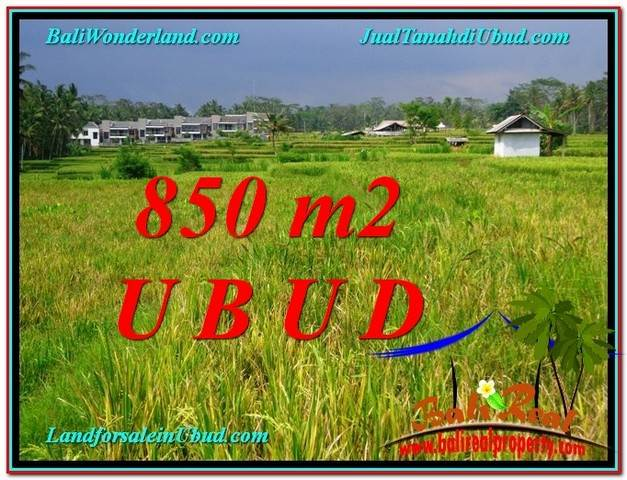 Beautiful LAND IN UBUD FOR SALE TJUB583