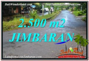 Beautiful 2,500 m2 LAND IN Jimbaran Ungasan BALI FOR SALE TJJI118