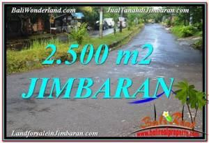 Beautiful 2,500 m2 LAND IN Jimbaran Ungasan BALI FOR SALE TJJI118