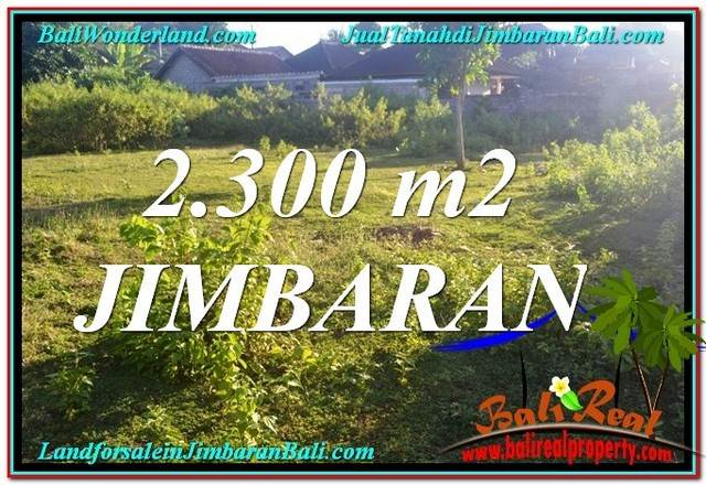 FOR SALE Beautiful PROPERTY 2,300 m2 LAND IN JIMBARAN BALI TJJI117