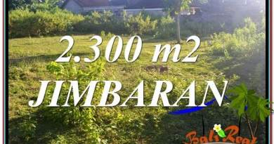 Beautiful 2,300 m2 LAND FOR SALE IN JIMBARAN BALI TJJI117